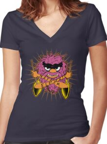 AN-I-MAL! Women's Fitted V-Neck T-Shirt