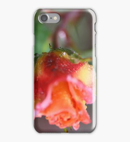 UP SIDE DOWN ROSE  iPhone Case/Skin
