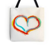 """I love"" graffiti Tote Bag"