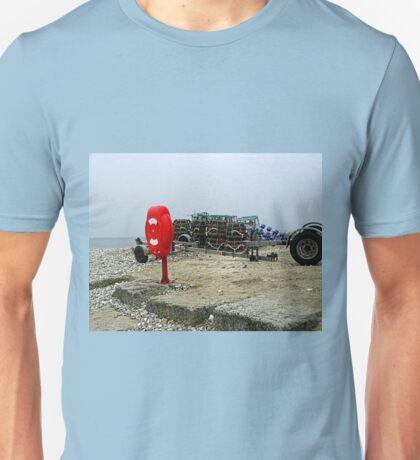 On Monmouth Beach... Lyme Dorset UK Unisex T-Shirt