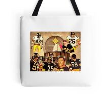 Pittsburgh Steelers Hall of Fame Defensive Legends Tote Bag