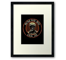 United Rude Boys Framed Print