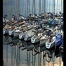 """Sailboats - Fallenbach, Switzerland"" - phone by Michelle Lee Willsmore"