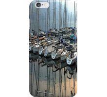 """Sailboats - Fallenbach, Switzerland"" - phone iPhone Case/Skin"
