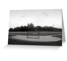Baseball Net Greeting Card