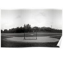 Baseball Net Poster