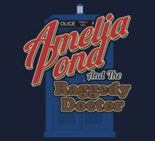 Amelia Pond and the Raggedy Doctor by KruithofDesigns