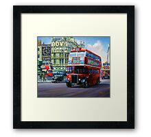 London Transport RT Framed Print