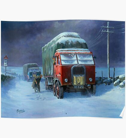 BRS Scammell R8 Poster