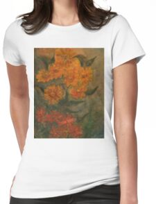 Flowers 5 Womens Fitted T-Shirt