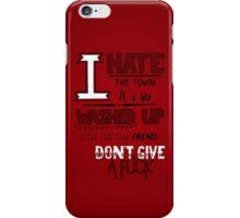 All Signs Point To Lauderdale - Red iPhone Case/Skin