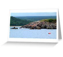 Neil's Harbour, Cape Breton, NS Greeting Card