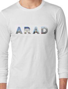 arad text Long Sleeve T-Shirt