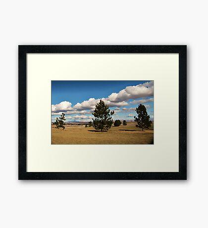 Golfing Weather Framed Print