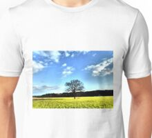 Tree and clouds Unisex T-Shirt
