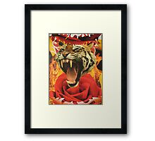 Righteous Rage Framed Print