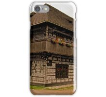 Painted cottage iPhone Case/Skin