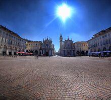 Piazzo San Carlo, Torino by Guy Carpenter