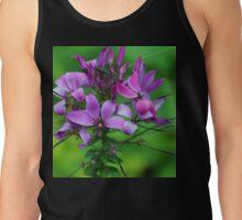 Pretty Purple Flower at Abbotsbury Sub-Tropical gardens Tank Top