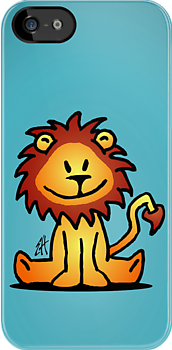 Cute little lion by cardvibes