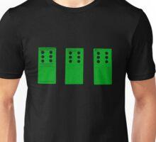 666 Dominos - Green Unisex T-Shirt
