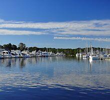 Harbor View at Wickford  by John  Kapusta