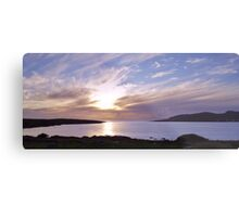 Evening at Trawenagh Bay Metal Print
