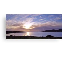Evening at Trawenagh Bay Canvas Print