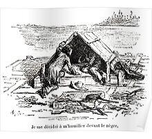 Achille Sirouy Mark Twain Les Aventures de Huck Huckleberry Finn illustration p105 Poster