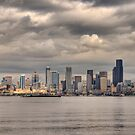 Downtown Seattle by Barb White