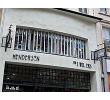 Henderson's Jewellers - The Willow Tearoom, Glasgow Photographic Print