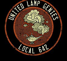 United Lamp Genies by Bronzarino