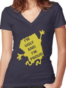 Spongebob - Ugly & Proud Women's Fitted V-Neck T-Shirt