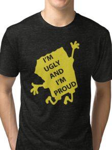 Spongebob - Ugly & Proud Tri-blend T-Shirt