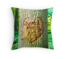 maria marry me Throw Pillow