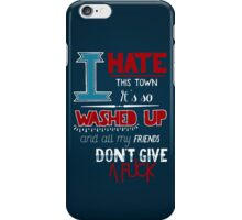 All Signs Point To Lauderdale - Blue iPhone Case/Skin