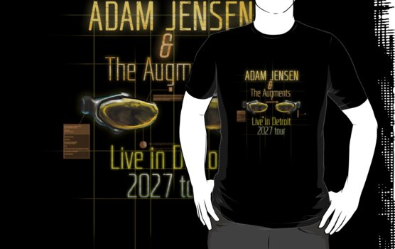 Adam Jensen and The Augments by sindresolhaug