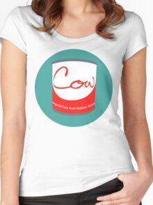 Cow Gum Women's Fitted Scoop T-Shirt