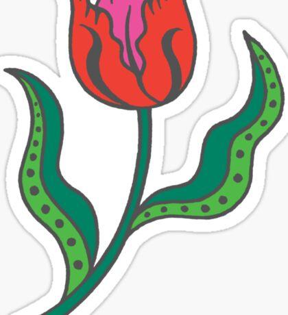 Tulip - Think Spring Sticker