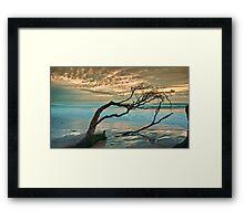 Old Bar Sunrise Framed Print