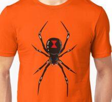 Black widow spider Unisex T-Shirt