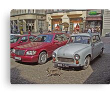 Luxury and history ... Canvas Print
