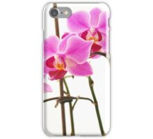 Pink Orchids III iPhone Case/Skin