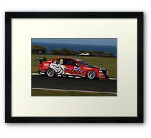 Toll Holden Racing Team Tander- Phillip Island 2011 Framed Print