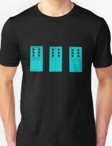 666 Dominos - Cyan T-Shirt