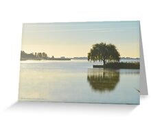 Salix Babylonica - Weeping Willow | Water Mill, New York  Greeting Card