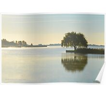 Salix Babylonica - Weeping Willow | Water Mill, New York  Poster