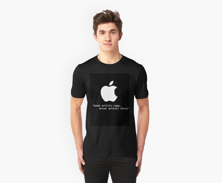 Apple Artists Think Differently   by johntheone