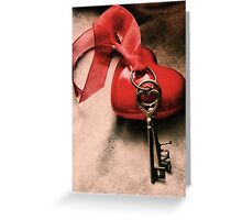Keys To Happiness Greeting Card