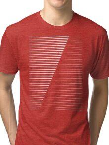 Black vs. White Tri-blend T-Shirt
